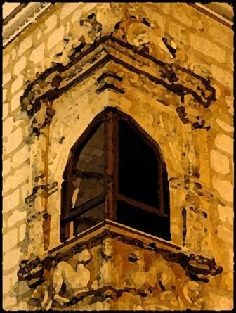 IV.- Parada en la ventana dejaba resbalar mis dedos persiguiendo las gotas sobre el cristal